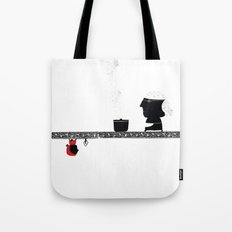 Little Red grandmother Tote Bag