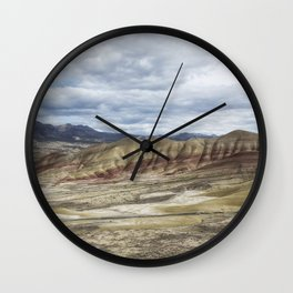 Heaven at Painted Hills Wall Clock