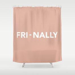 FRI - NALLY Shower Curtain