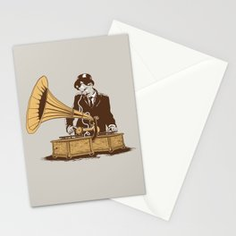 The Future In The Past Stationery Cards