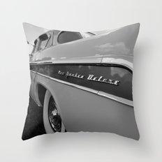 1955 Chrysler New Yorker DeLuxe Throw Pillow