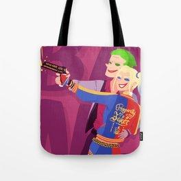 Joker and Harley Quinn Tote Bag