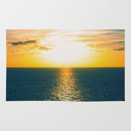 Sunset in July Rug
