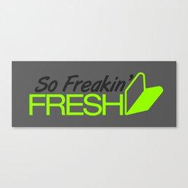 So Freakin' Fresh v4 HQvector Canvas Print