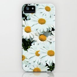 Daisies explode into flower iPhone Case