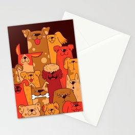 Pile of Woofs Stationery Cards