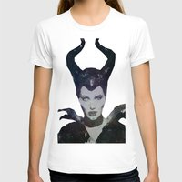 maleficent T-shirts featuring Maleficent by Esco