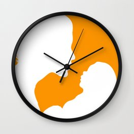 New Mum with Baby  Wall Clock