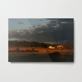 Wisconsin Farmscape Metal Print