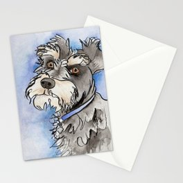 Scribble Schnauzer Stationery Cards