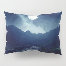 Walk to the Moon Pillow Sham