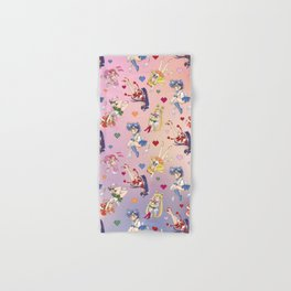 Chibi Super Inner Pattern Hand & Bath Towel