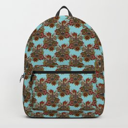 Floral Stag Backpack
