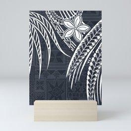 Hawaiian - Samoan - Polynesian Old Tribal Mini Art Print