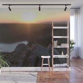 Medicine Bow Sunrise Wall Mural