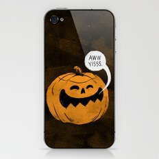 Pumpkin Season iPhone & iPod Skin