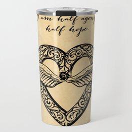 Jane Austen - Agony Travel Mug