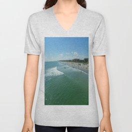 COCOA Beach Unisex V-Neck