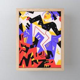 Let your Demons upgrade you Framed Mini Art Print