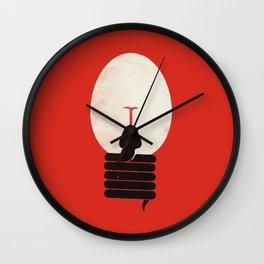 The Idea Eater Wall Clock