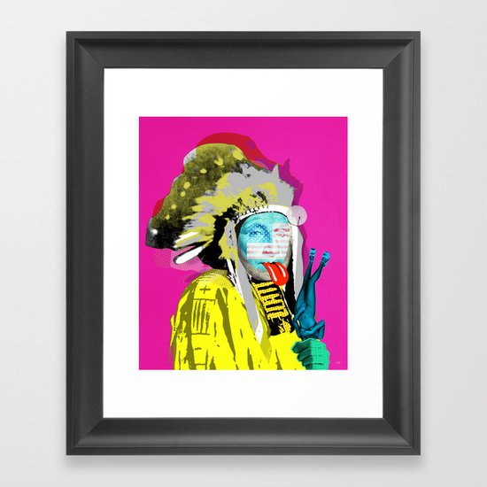 Indian Pop 96 Framed Art Print
