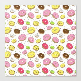 Dreamy Donuts Canvas Print