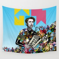 rave Wall Tapestries featuring RAVE by DIVIDUS