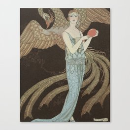 Robe du soir, the Bear, George Barbier, 1922 Canvas Print