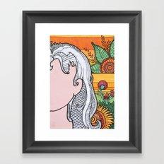 Disco Sunrise Framed Art Print