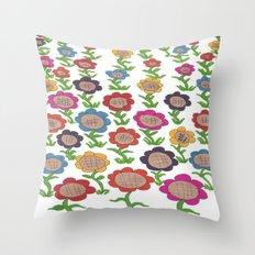 Endless Garden Throw Pillow