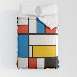 Mondrian De Stijl Modern Art Comforters