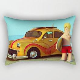 Surf Dude Rectangular Pillow