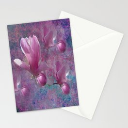 MAGNOLIA BLOSSOMS Stationery Cards