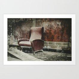 The Holy Seat Art Print
