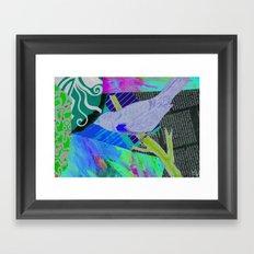 your bird can sing Framed Art Print