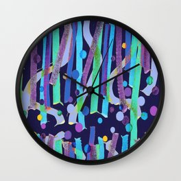 Aquatique 2 Wall Clock