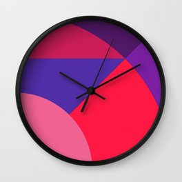 PurplePink Wall Clock