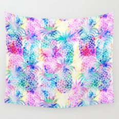 Pineapple Dream Wall Tapestry