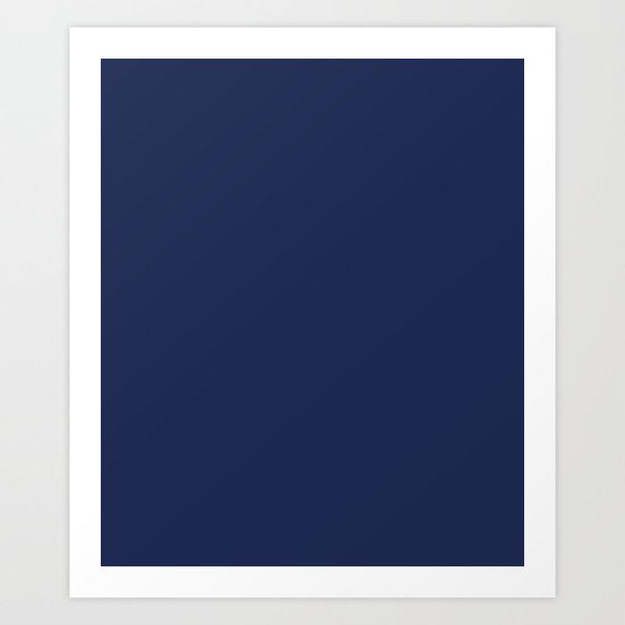 Space cadet - solid color Kunstdrucke
