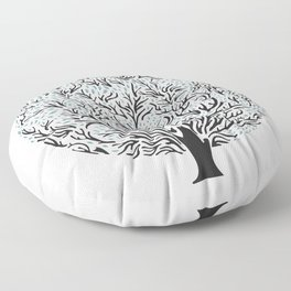 Tree Floor Pillow
