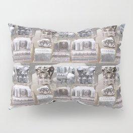 Roman Rubble Pattern Pillow Sham