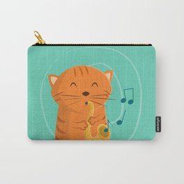 Jazz Cat Carry-All Pouch