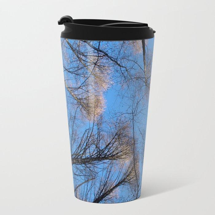 Glowing trees II Travel Mug