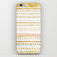 GOLD TRIBE iPhone & iPod Skin