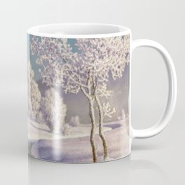 Winter Morning, After New Snow, Along the Emerald Stream by Ivan Fedorovich Choultsé Coffee Mug