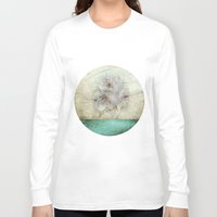 cherry blossom Long Sleeve T-shirts featuring Cherry Blossom  by aRTsKRATCHES