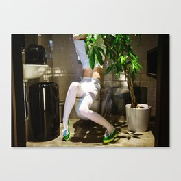 Ghosts aren't Real Canvas Print