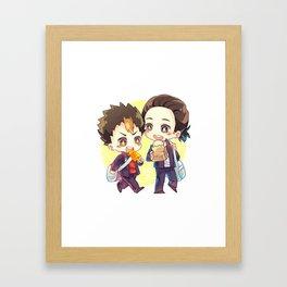 Asanoya Framed Art Print