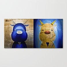 2 Bubs Canvas Print