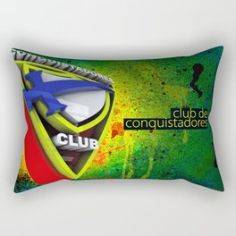 Conquistador 3D streetArt Rectangular Pillow
